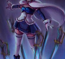 sayaka - sword draw by anephilimrising