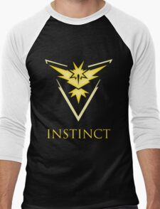 Team Instinct | Pokemon GO Men's Baseball ¾ T-Shirt