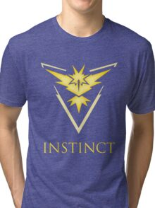 Team Instinct | Pokemon GO Tri-blend T-Shirt