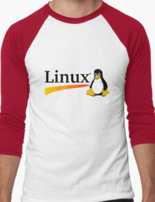 Linux Men's Baseball ¾ T-Shirt