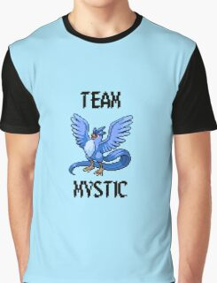 Pixelated Team Mystic Graphic T-Shirt