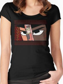 A Samurai named Jack Women's Fitted Scoop T-Shirt