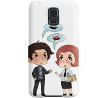 Scully and Mulder  Samsung Galaxy Case/Skin