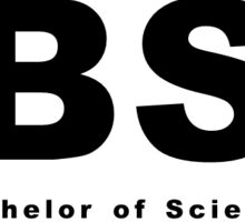 BC (Bachelor of Science) Oval Sticker