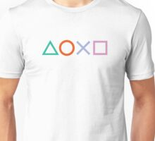 PS4 Controller Buttons Unisex T-Shirt