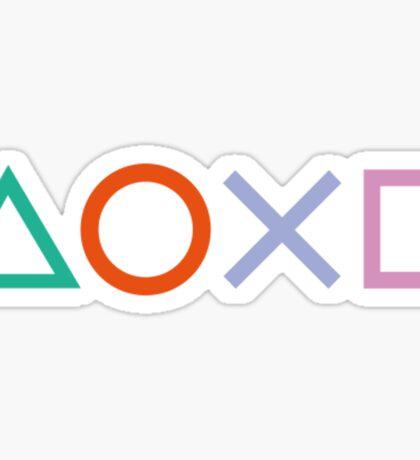 PS4 Controller Buttons Sticker