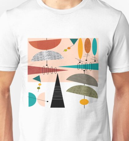 Mid-Century Modern Abstract #59 Unisex T-Shirt
