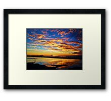 Sunset Supreme Framed Print