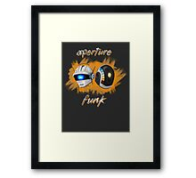 Aperture Funk - Orange Framed Print