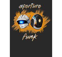 Aperture Funk - Orange Photographic Print