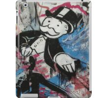 graffiti - Monopoly man iPad Case/Skin