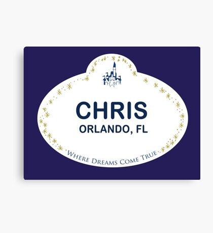 Chris From Orlando Canvas Print