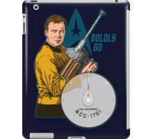Boldly Go iPad Case/Skin