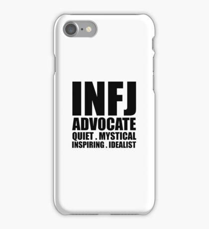 INFJ Advocate Introvert iPhone Case/Skin