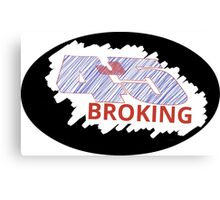 Broking 45J- Commission Canvas Print