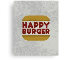 Happy Burger Canvas Print