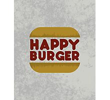 Happy Burger Photographic Print