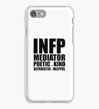 INFP Mediator Introvert iPhone Case/Skin