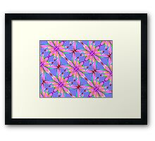 Butterfly Blooms Framed Print