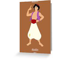 Aladdin Illustration Greeting Card