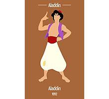 Aladdin Illustration Photographic Print