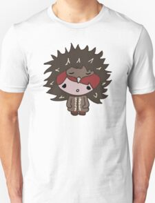 Girl with Echidna hat Unisex T-Shirt
