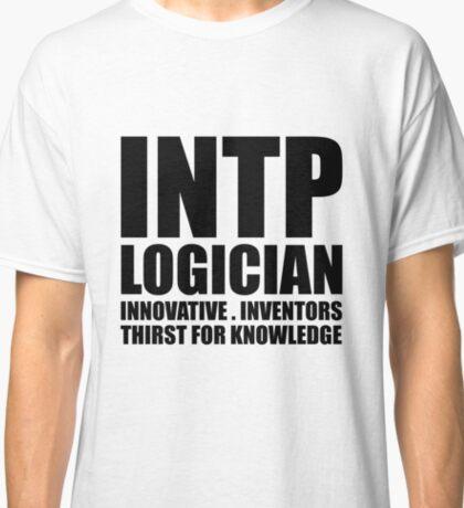 INTP Logician Introvert Classic T-Shirt