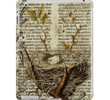 Nest Antique Bible iPad Case/Skin