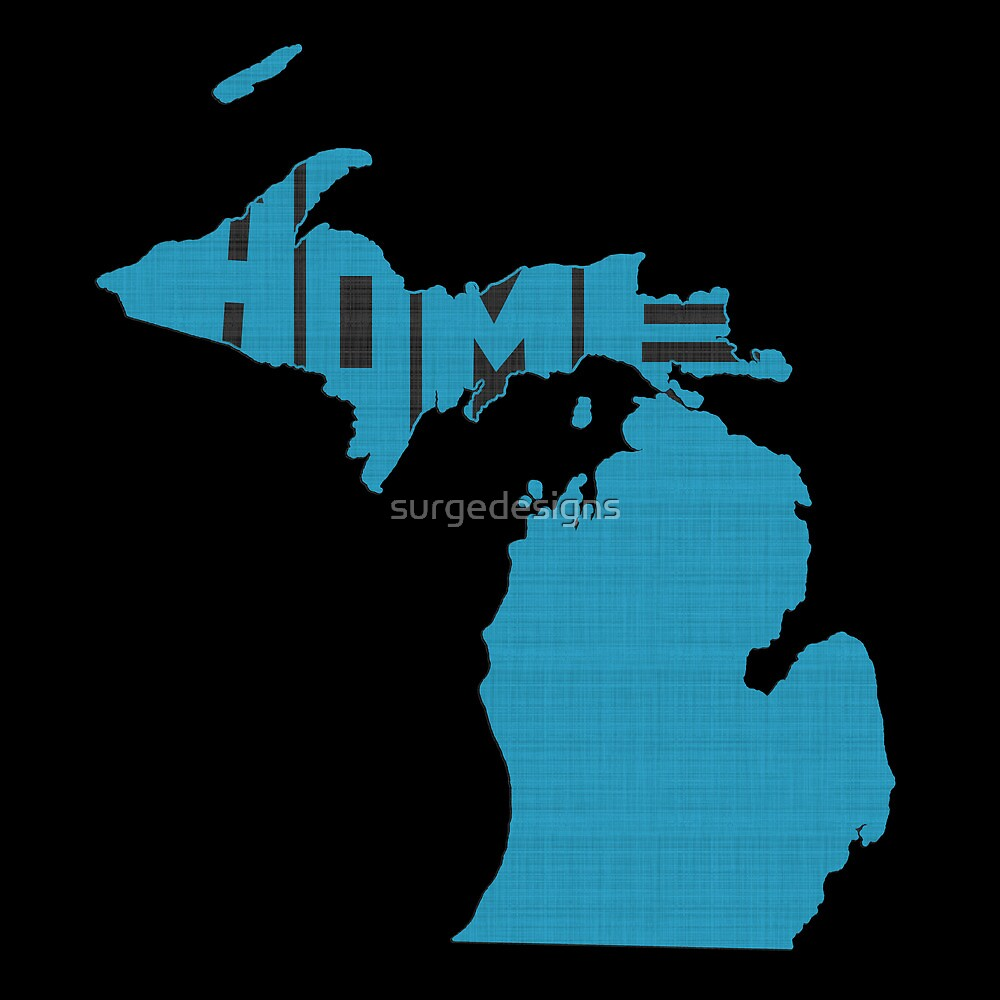 Michigan HOME state design by surgedesigns