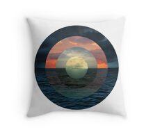 Ocular Oceans Throw Pillow