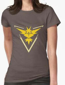 Team Instinct - Pokemon Go Womens Fitted T-Shirt