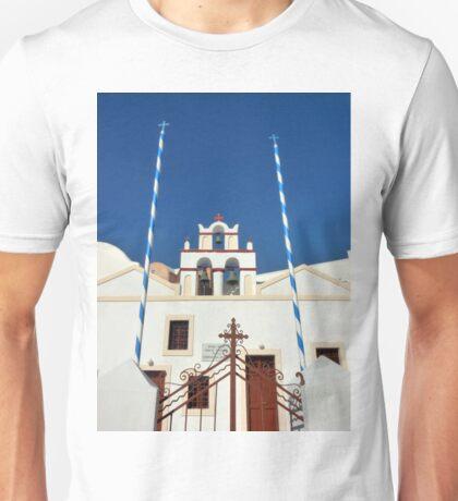 Crosses and Bells Unisex T-Shirt