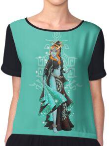 Gaming Princess: Midna (turquoise) Chiffon Top