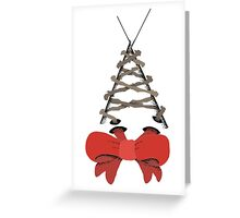 Thorned Corset Greeting Card