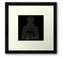 are u Sherlock? Framed Print