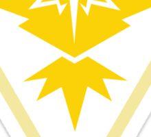 Gold Team Rules - Team Instinct Sticker