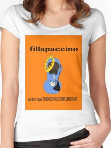 Fillapaccino Women's Fitted Scoop T-Shirt