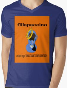 Fillapaccino Mens V-Neck T-Shirt