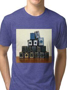 Camera Stack Tri-blend T-Shirt