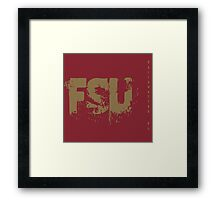 FSU Framed Print