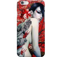 Dragons & Cherry Blossoms  iPhone Case/Skin