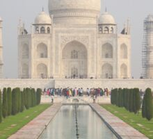 The Taj Mahal, Agra Sticker