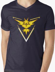 Team Instinct | Pokemon GO Mens V-Neck T-Shirt