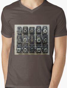 TLR Cameras Mens V-Neck T-Shirt