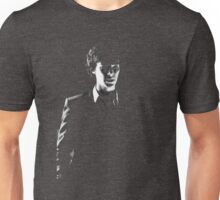 Sherlock standing in dark red Unisex T-Shirt
