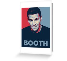 Booth Greeting Card