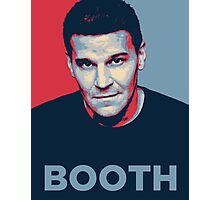 Booth Photographic Print