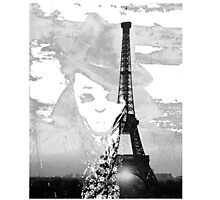 Sherlock black white 00001 Photographic Print