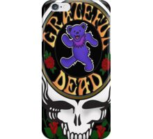 Grateful Dead Skull and Bear iPhone Case/Skin