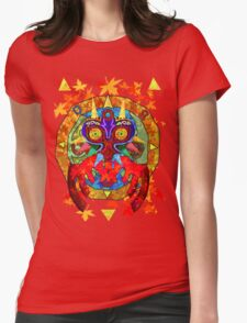 Majora's Fall Womens Fitted T-Shirt